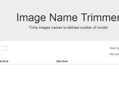 Trim Image name at uploads folder and update db - wordpress