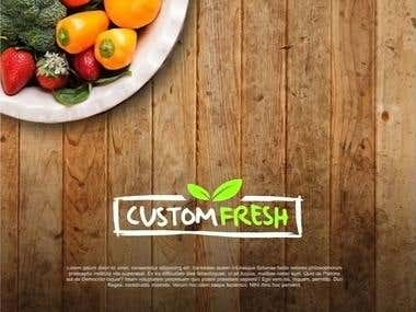 Food company logo design