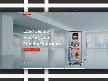 Tool-Temp Website redesign