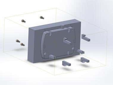 Design Of enclosure and injection mold