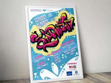 Poster for Hip-Hop Festival