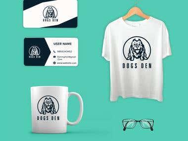 Dog Den - Branding