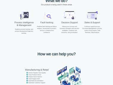 Twitter Bootstrap One page template
