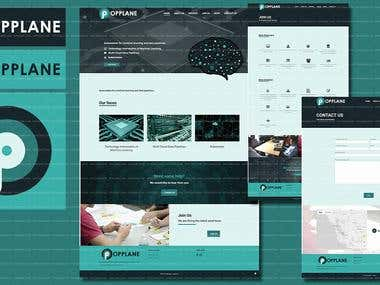 Diseño de logo y web para Opplane