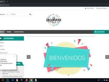 Desarrollo Web para Decorato + Gestión de Redes Sociales