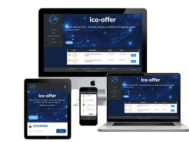 ico-offer : An ICO - Airdrop, Bounty or Referral Program !