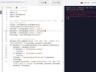 Javascript , Python Code