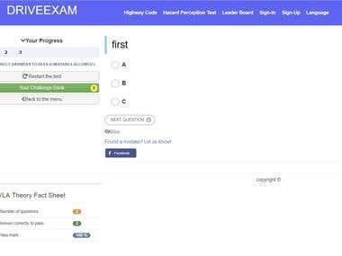 drive-exam.herokuapp.com