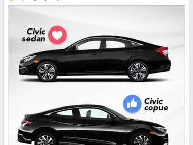 Honda Perú – Facebook Content