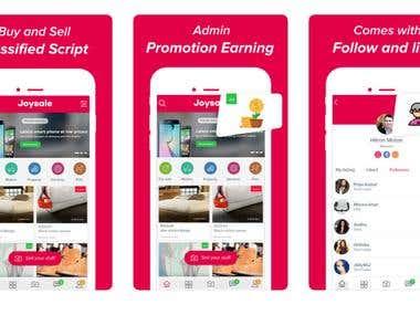 Online Shopping App - Joysale