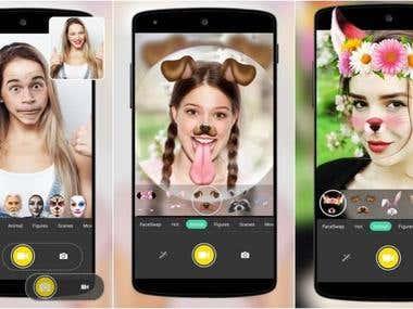 Mobile Face Swap App