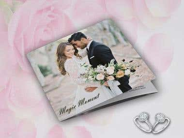 Marriage Booklet / Fashion Catalog / Magazine