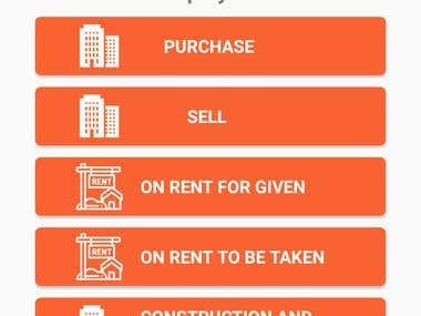 Real-Estate App - for Agent and Customer