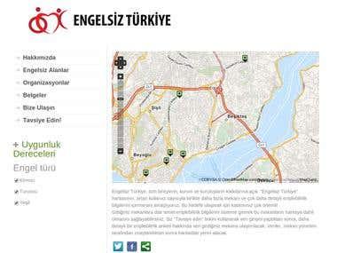 Engelsiz Turkiye web site