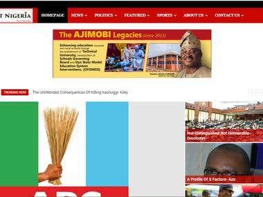 BLOG/NEWS WEBSITE