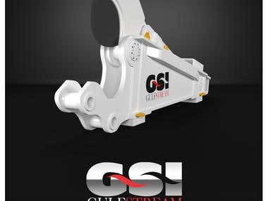GSI Golf Streem products 3D models