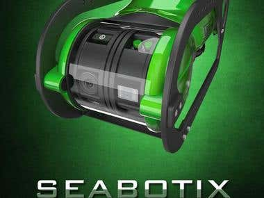 3D ROV model Seabootix