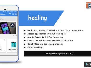 Healing - An E-Commerce App