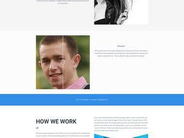 Service Type website