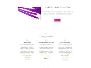 Shopify eCommerce website