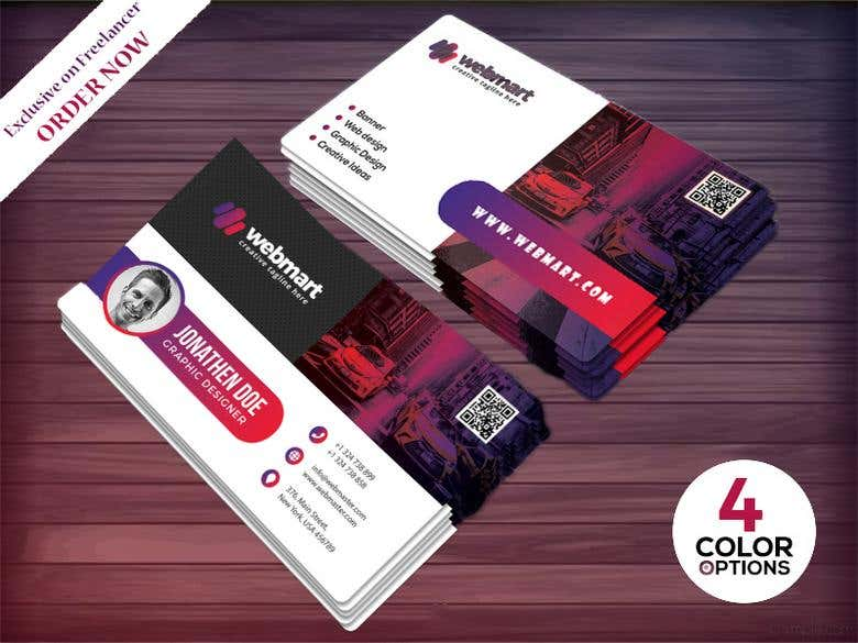modern graphic design business card designs