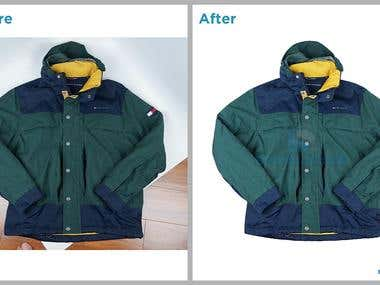 Background Remove From Clothes Images