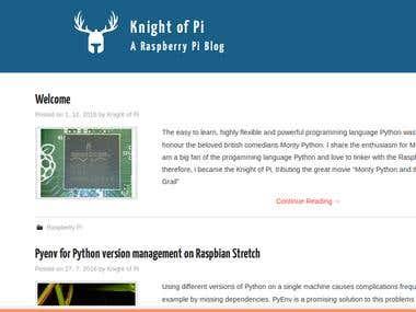 Knight of Pi RPi blog