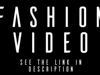 Fashion Video Editing