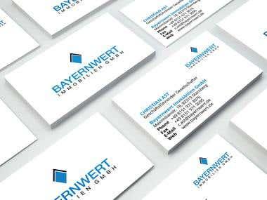 Bayernwert Immobilien GmbH Business Cards