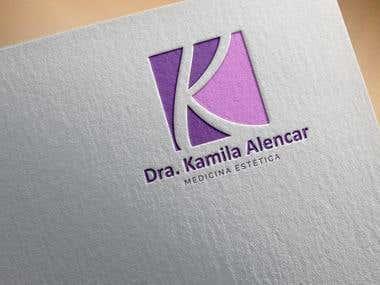 Dra Kamila Alencar logo