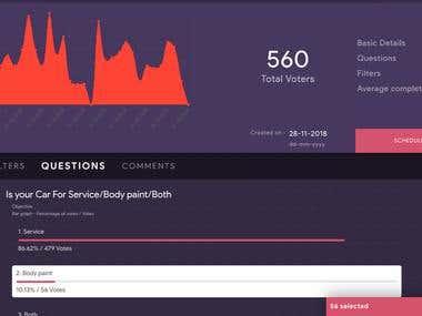 Survey and Analytics Tool