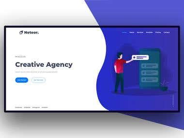 Neteor - Creative Agency HTML5 Template