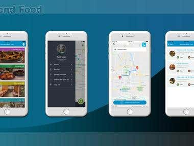Hybrid Mobile App (R-Friend Food)