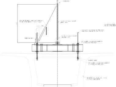 Box girder lifting frame