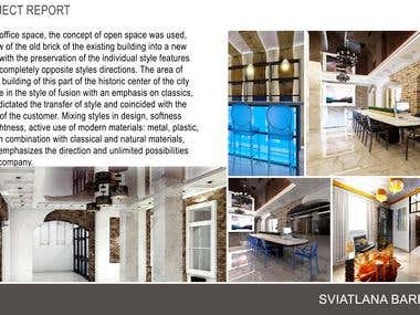 Interiors projects