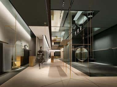Interior Visualization.