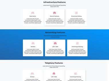 Website development for AP IT Solution