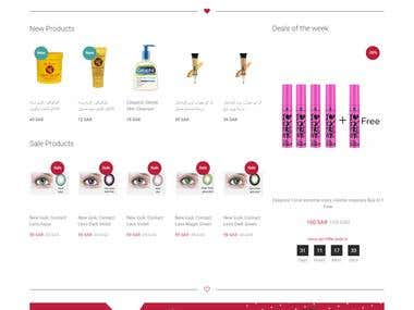 RTL Online Cosmetic shopping store