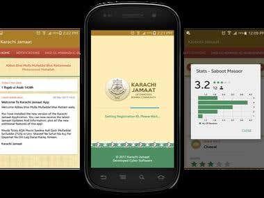 Android Application - Karachi Jamaat
