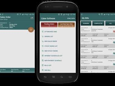 Order Booking App For Distribution Agency