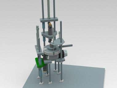 Automated Terminal tapping machine