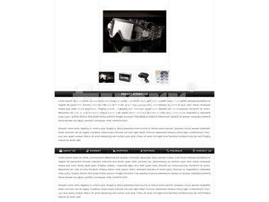 Military-Eyewear Ebay Store Design Project-Dec 18