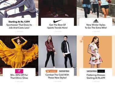 Shopping Ecommerce Website
