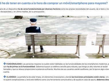 Muestra de artículo en ancianos.es