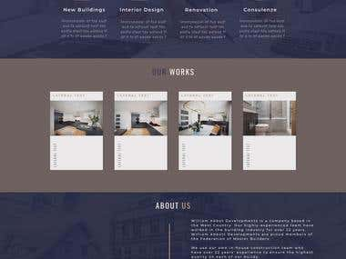 Site for construction company