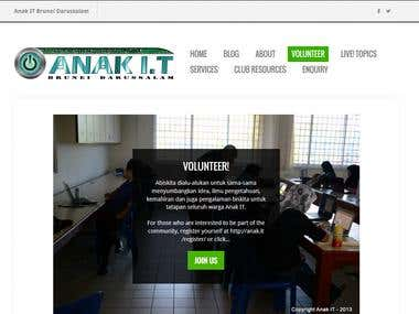 Anak IT Revamp Site