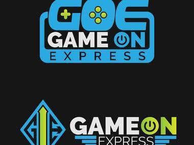 Game On Express Logos