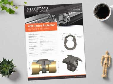 STYRECAST CABLE PROTECTION SYSTEM