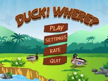AR Duck Shooting Game