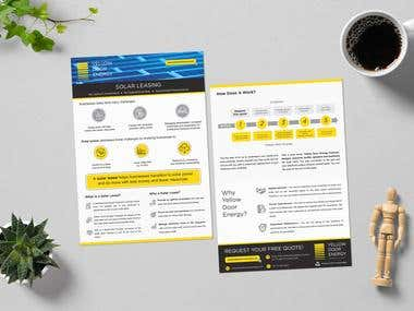 Yellow Door Energy Brochure